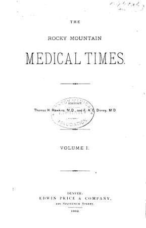The Rocky Mountain Medical Times PDF