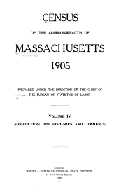 Census of the Commonwealth of Massachusetts, 1905: Volume 2