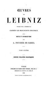 Oeuvres de Leibniz: Petits traités politiques