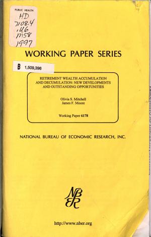 Retirement Wealth Accumulation and Decumulation PDF