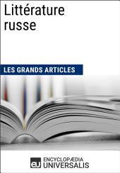 Littérature russe: Les Grands Articles d'Universalis