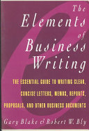 The Elements of Business Writing