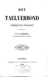 Het taelverbond: letterkundig tydschrift, Volume 1