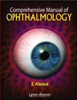 Comprehensive Manual of Ophthalmology PDF