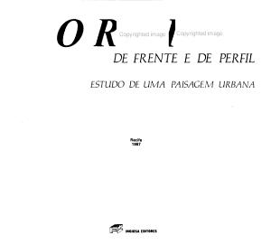 O Recife  de frente e de perfil PDF
