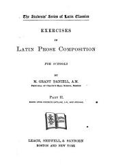 Exercises in Latin Prose Composition ...