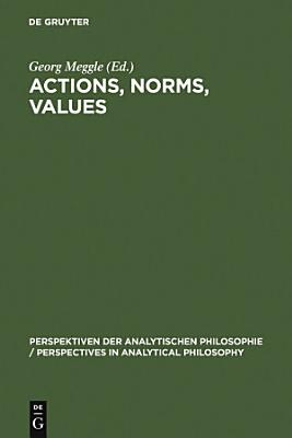 Actions  Norms  Values PDF