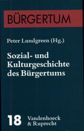 Sozial- und Kulturgeschichte des Bürgertums: eine Bilanz des Bielefelder Sonderforschungsbereichs (1986-1997)
