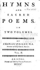 Hymns and Sacred Poems: In Two Volumes, Volume 2