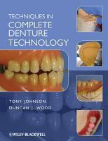 Techniques in Complete Denture Technology PDF