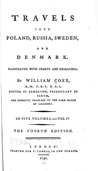 Download Travels Into Poland  Russia  Sweden and Denmark     Book