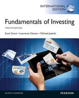 Fundamentals of Investing  International Edition PDF