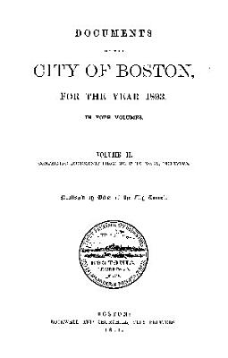 Documents of the City of Boston PDF