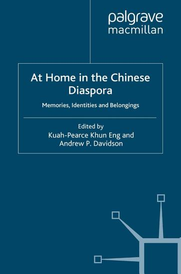 At Home in the Chinese Diaspora PDF