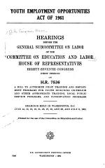 Youth Employment Opportunities Act of 1961
