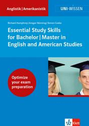 Essential Study Skills for Bachelor  Master in English and American Studies PDF