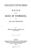 Notes on the book of Numbers PDF