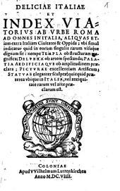 Deliciae Italiae