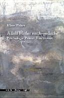 Adolf Hitler nach gedacht PDF