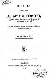 Oeuvres complètes de Mme Riccoboni