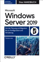 Microsoft Windows Server 2019     Das Handbuch PDF