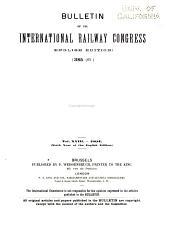 Bulletin of the International Railway Congress Association [English Edition]