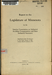 Report to the Legislature of Minnesota