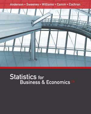 Statistics for Business   Economics