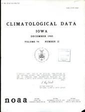 Climatological data: Iowa, 第 94 卷,第 12 期