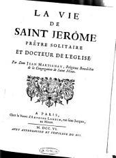La vie de Saint Jérôme