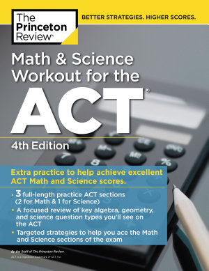 Math and Science Workout for the ACT  4th Edition