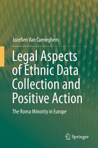 Legal Aspects of Ethnic Data Collection and Positive Action PDF