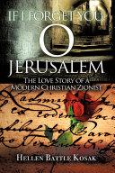 If I Forget You, O Jerusalem