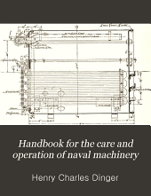 Handbook for the care and operation of naval machinery
