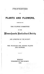 Properties of Plants and Flowers