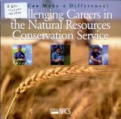 Challenging careers in the Natural Resources Conservation Service