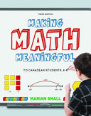 Making Math Meaningful to Canadian Students  K 8 Book