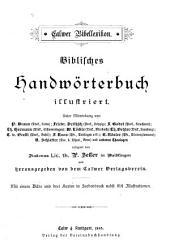 Calwer Bibellexikon: Biblisches Handwörterbuch illustriert
