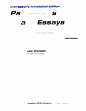Paragraphs   Essays PDF