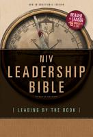 NIV  Leadership Bible  eBook PDF