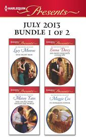 Harlequin Presents July 2013 - Bundle 1 of 2: An Anthology