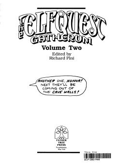 The Elfquest Gatherum PDF