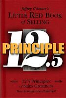 Little Red Book of Selling Principle 12  5 PDF
