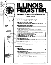 Illinois Register PDF