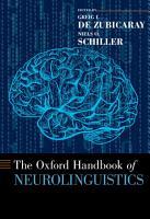 The Oxford Handbook of Neurolinguistics PDF