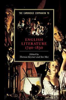 The Cambridge Companion to English Literature  1740   1830 PDF