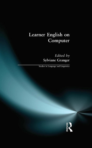 Learner English on Computer