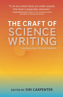 The Craft of Science Writing  Selections from The Open Notebook PDF