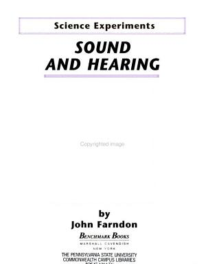 Sound and Hearing PDF
