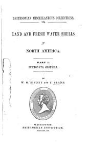 Land and Fresh Water Shells of North America: Part 1